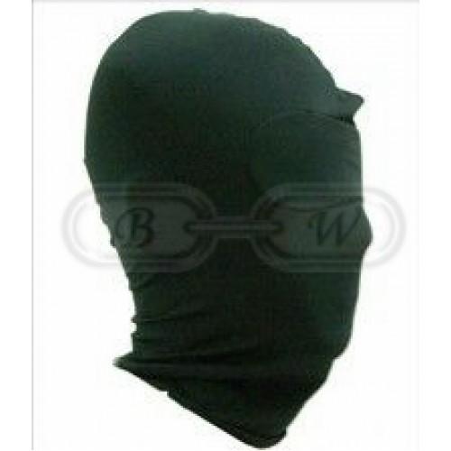 Black Spandex Hood