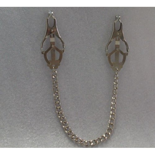 Clover Nipple Clamps With Chain