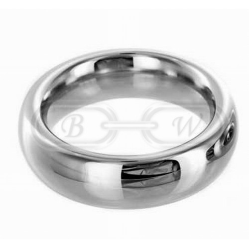 Chrome Plated Cock Ring