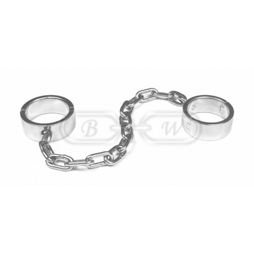 Stainless Steel Ankle Cuffs (Large)