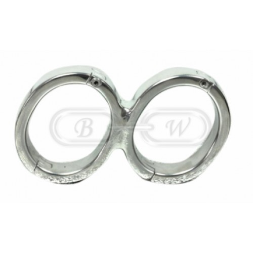 Stainless Steel Wrist Cuffs (Small)