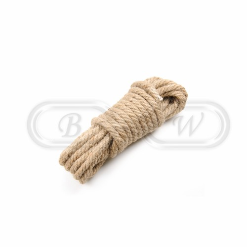 Rough Hemp Bondage Rope (5m)