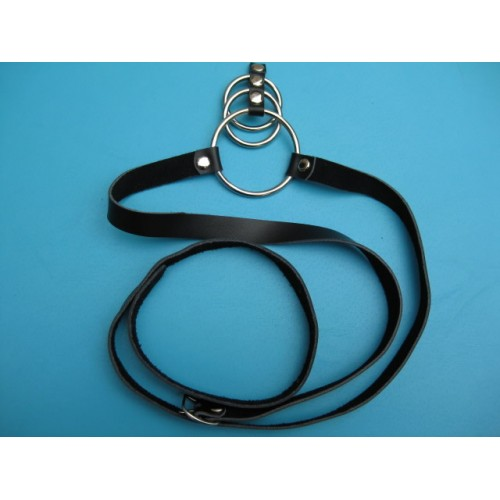 Cock Ring With Belt Strap