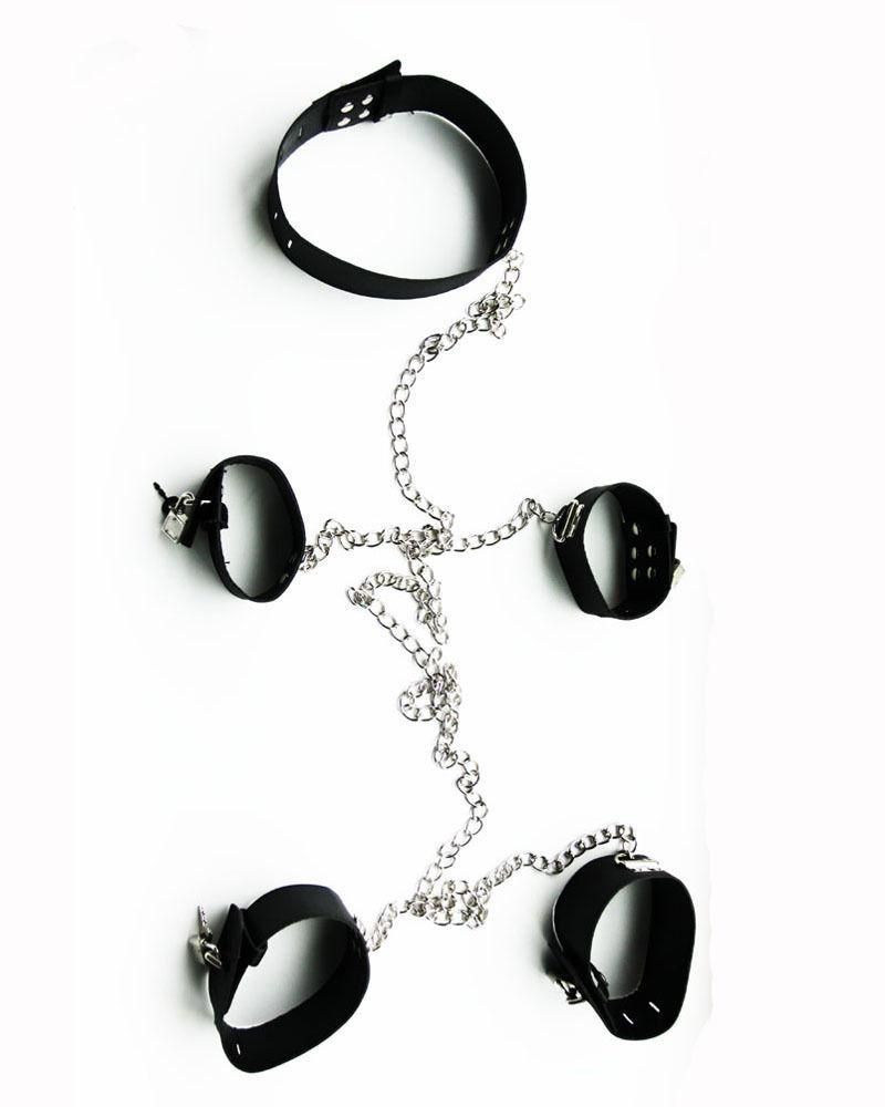 Bondage collar wrist
