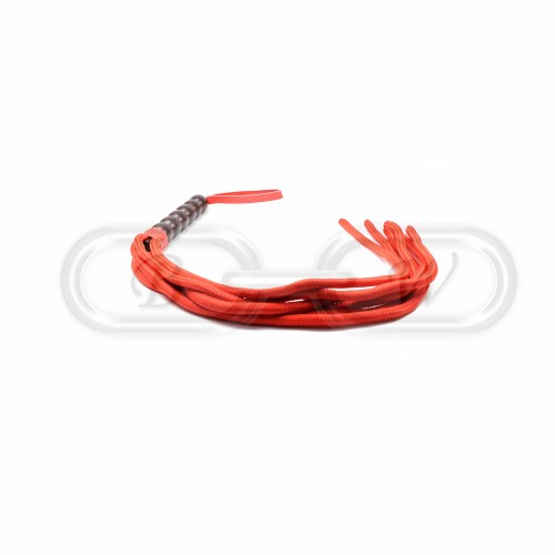 Red Cotton Rope Flogger