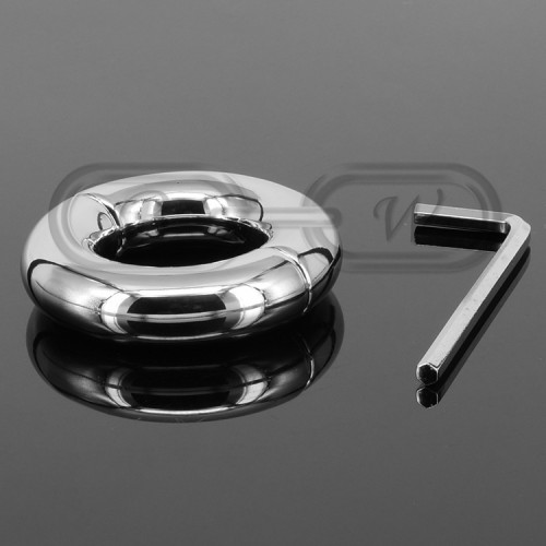 Stainless Steel Weighted Penis Ring - 200g