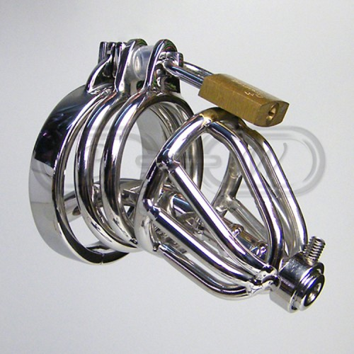 Stainless Steel Chastity Cage