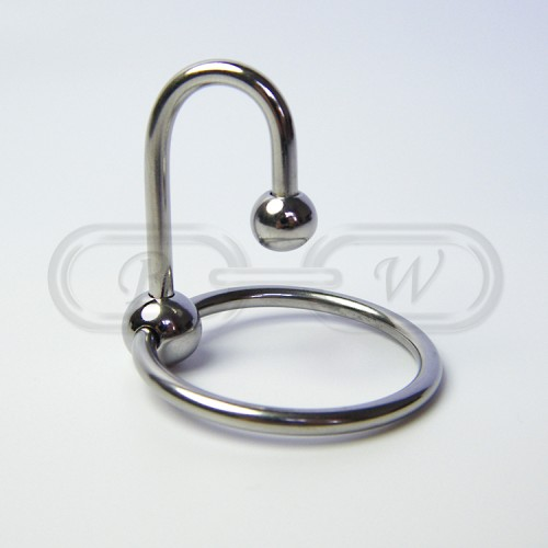 Ring with Urethral Insert