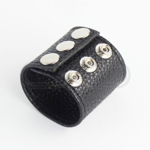 Faux Leather Penis Sleeve