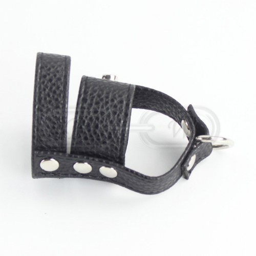 Faux Leather Penis Strap/Ring