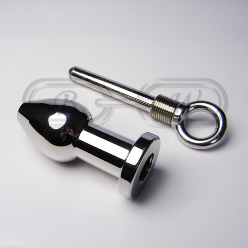 Stainless Steel Enema Anal Plug