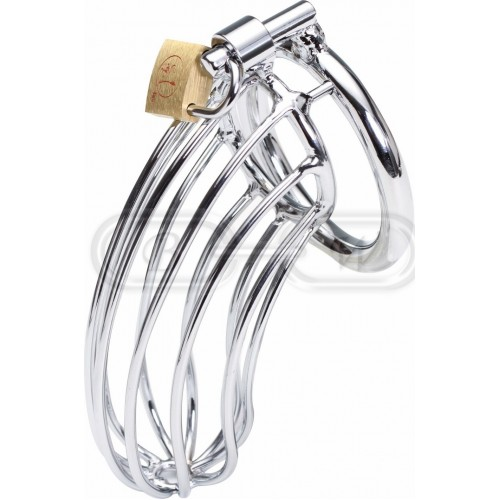 Steel Chastity Cage