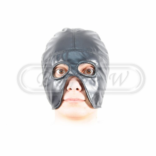 Executioner Hood - Black Faux Leather