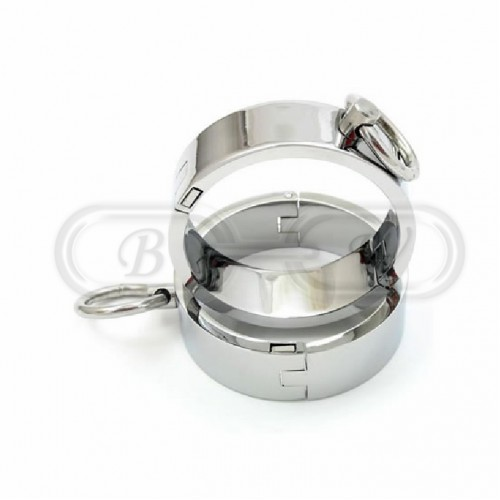 Chrome Plated Wrist Cuffs (Small)