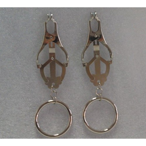 Clover Nipple Clamps with Rings