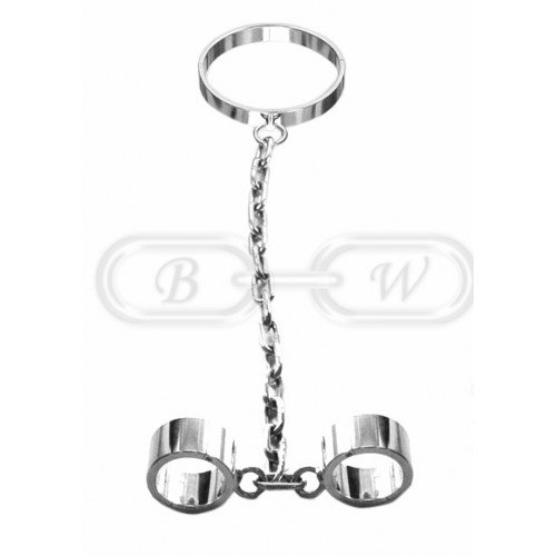 Collar & Wrist Shackles (Large)