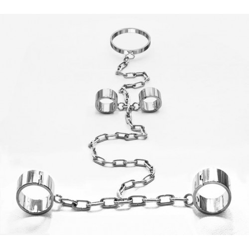 Collar, Wrist & Ankle Shackles (Large)