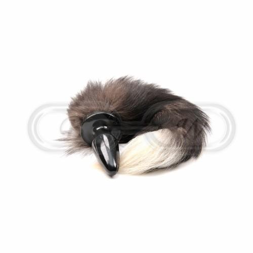 Silicone Fox Tail Butt Plug
