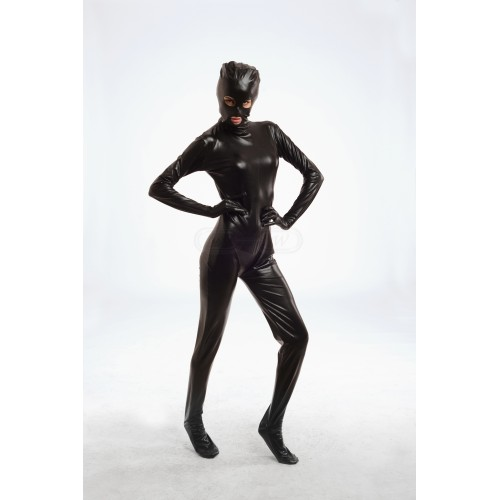 Full Body Black Zentai Suit