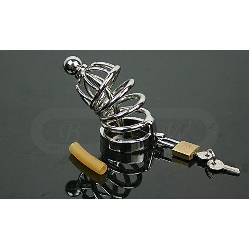 Stainless Steel Chastity Cage (short version)